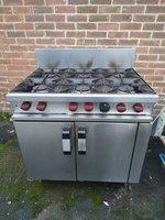 Second Hand Moorwood Vulcan MasterChef 6 Burner Gas Cooker