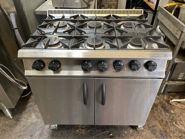 Buy Moorwood Vulcan 6 Burner Oven Range