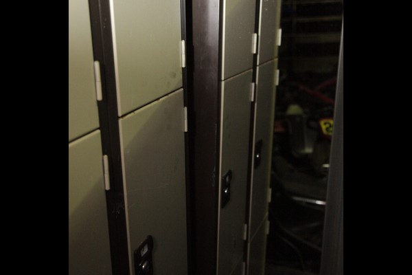 customers lockers