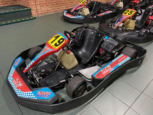 Fleet of 15 Eglem ex hire karts