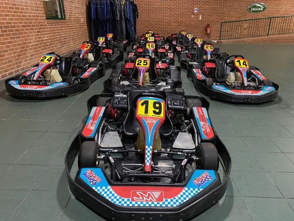 Fleet of 15 Eglem karts