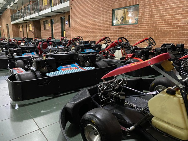 Fleet of ex hire karts