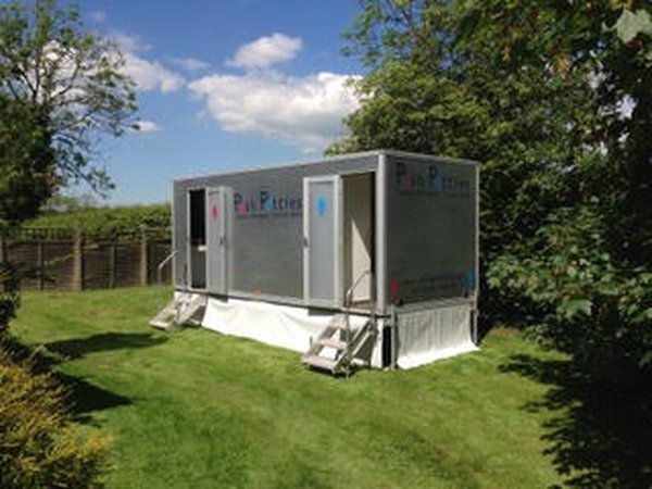 3+1 Luxury Designer Toilet Trailer - South Shropshire