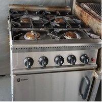 Parry 4 Burner Gas Cooker - Faversham, Kent