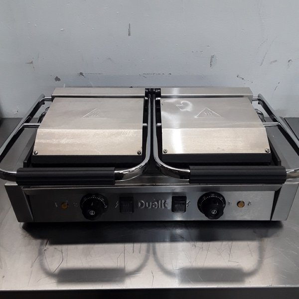 New B Grade Dualit RCG2 Double Contact Panini Grill
