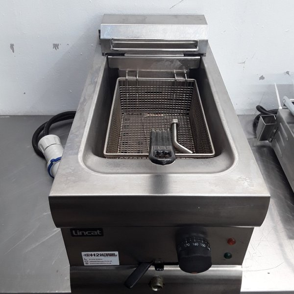 Used Lincat DF39 Single Table Top Fryer 9L