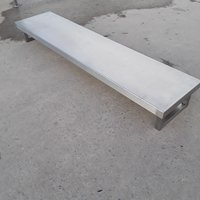 Used Stainless Steel Gantry Shelf