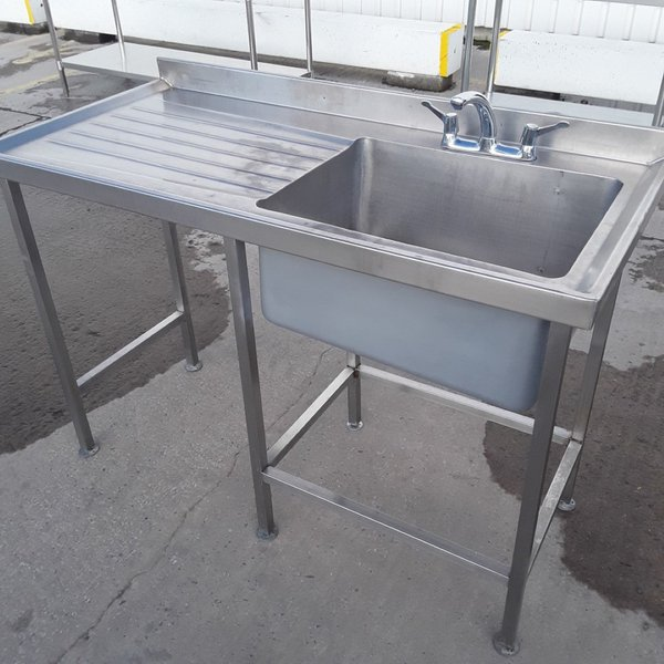 Used Stainless Steel Single Sink