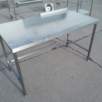 141cm Used Stainless Steel Table