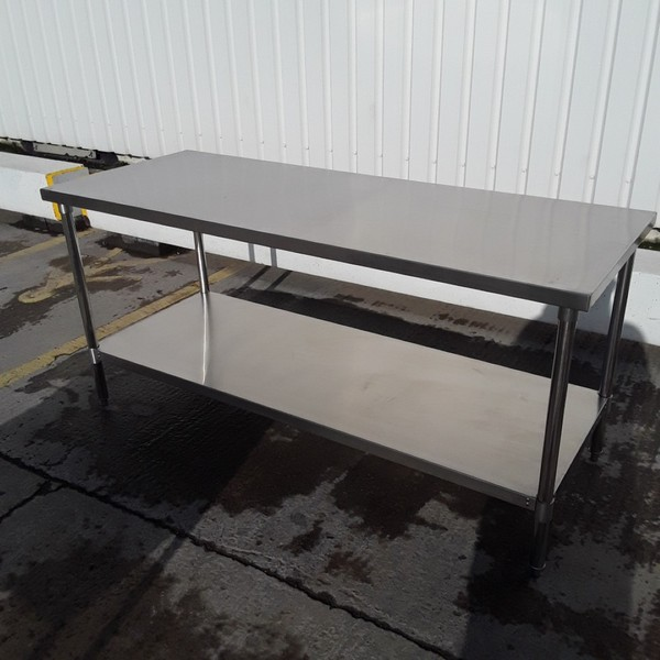 New B Grade Stainless Steel Table (10210) - Bridgwater, Somerset