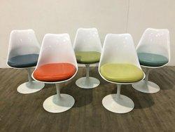 70 Coloured Swivel Tulip Chairs