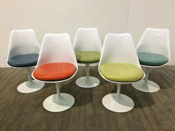 70 Coloured Swivel Tulip Chairs