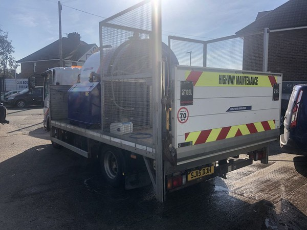 Secondhand Toilet service truck for sale