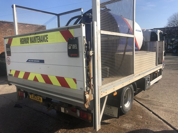 Toilet service truck for sale