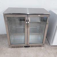 New B Grade Polar GL008 Double Bottle Fridge (U10244)