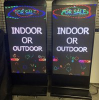 Indoor or Outdoor use digital LED advertising machines