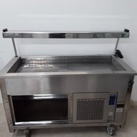 Used Moffat VCRW4 Stainless Steel Chiller Trolley(10261)