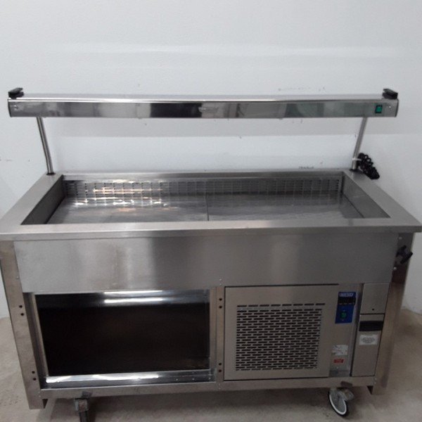Used Moffat VCRW4 Stainless Steel Chiller Trolley	(10261)