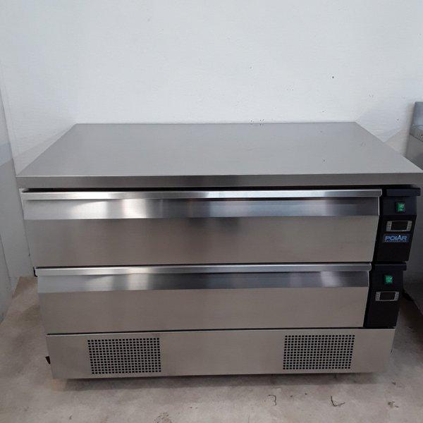 New B Grade Polar DA997 Fridge Freezer Counter(U10264)