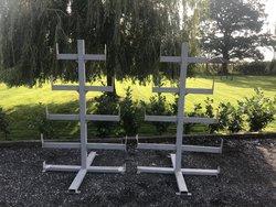 Marquee frame work rack