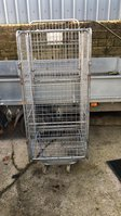 Milk transport trolly / cage