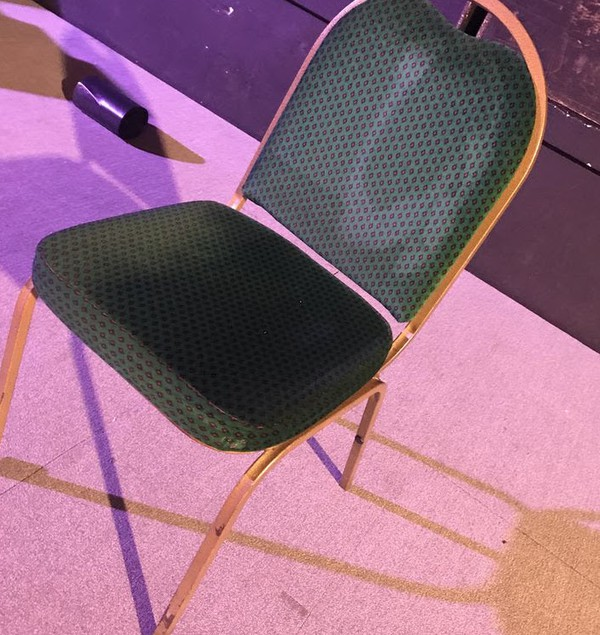 Steel Framed Green Gold Banqueting Chairs