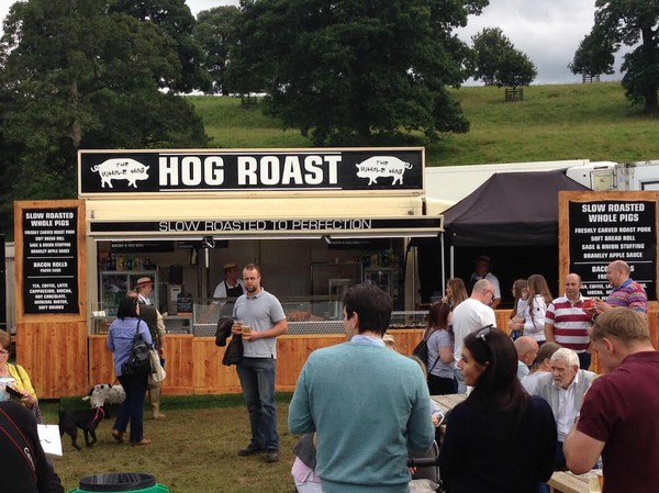 Second Hand Hog Roast Catering Unit High Output