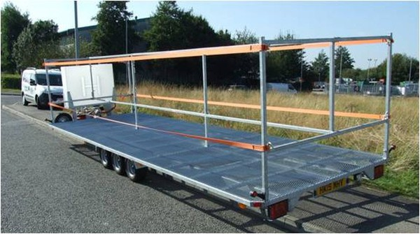 12 toilet transport trailer for sale