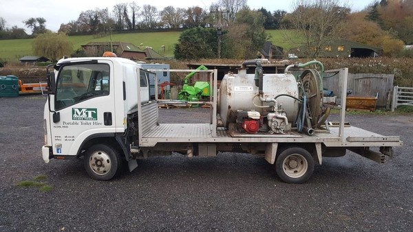 Secondhand Isuzu Grafter Tanker
