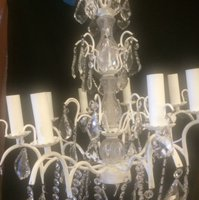 8 Arm Crystal Chandeliers
