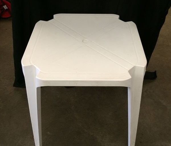 Plastic Bistro Patio Table
