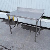 Used Stainless Steel Table (10302)