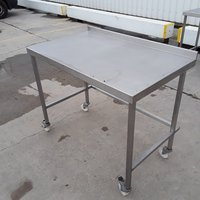 Used Stainless Steel Table (10303)
