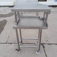 Used Stainless Steel Table (10304)