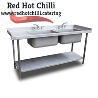 Double catering sink for sale
