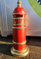 Santa Clause Christmas post box