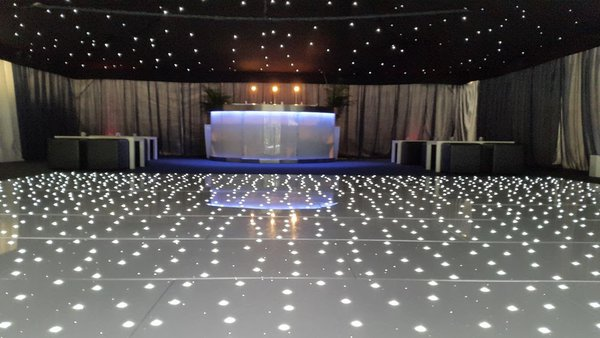 White LED Dance floor for sale