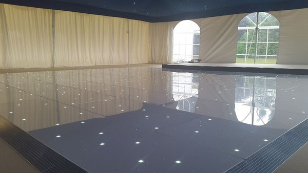 White LED MadEffects Dance floor