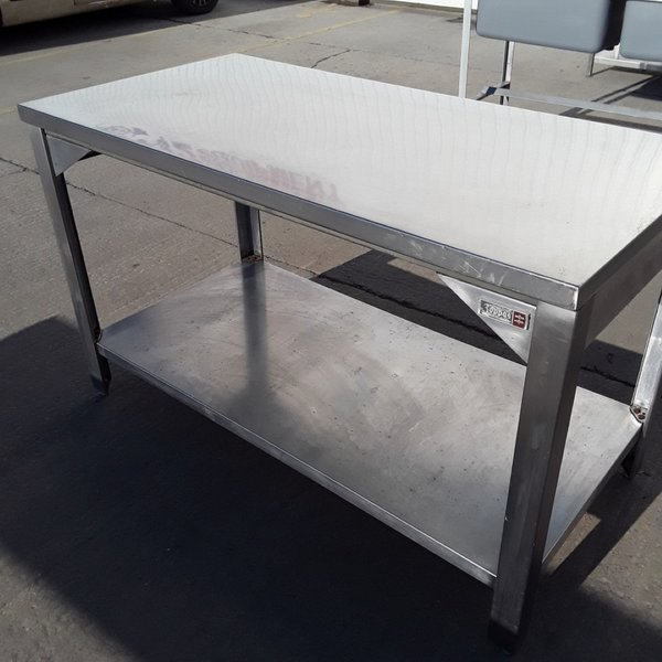 140cm Stainless steel table for sale