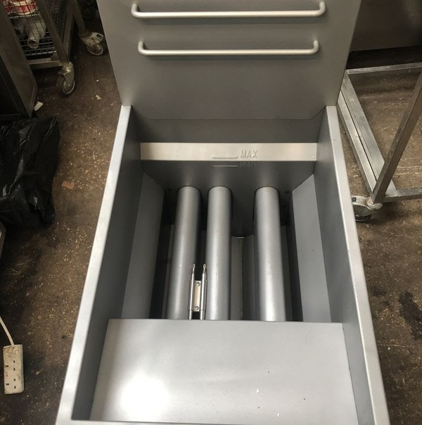 Commercial Gas Twin Fryer