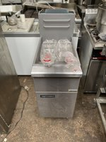 Brand New Twin Basket Natural Gas Fryer