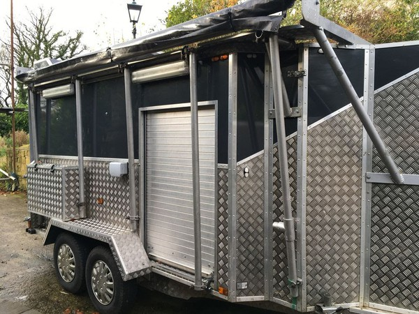 Karting Trailer, Full Electrics And Sleep Deck