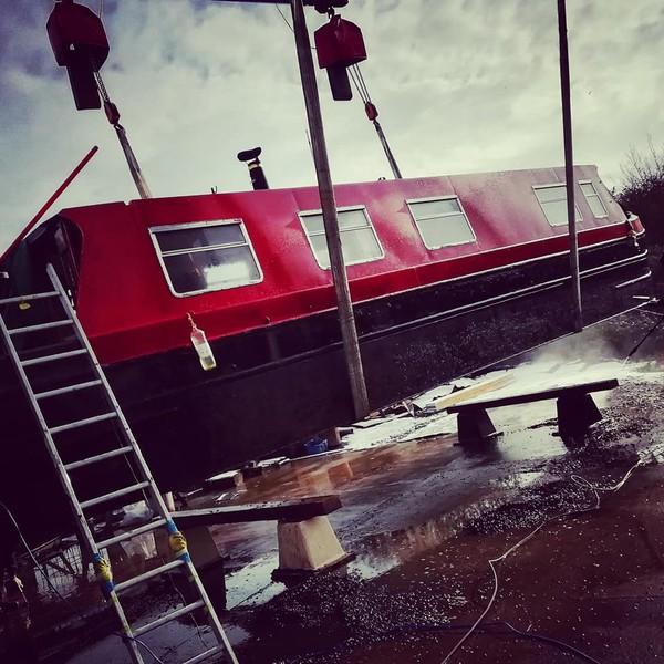 Canal Narrow Beam Boat