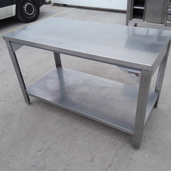 Used Boppas Stainless Steel Table