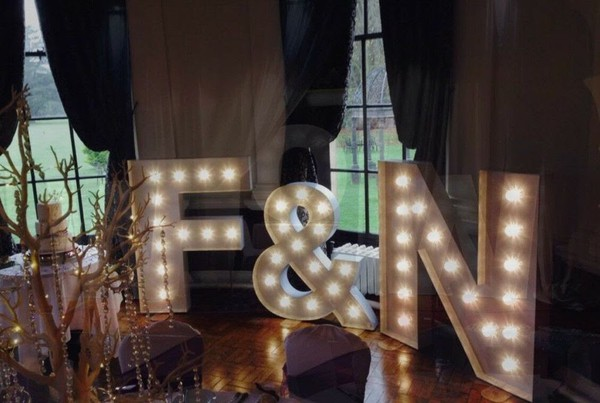 WOW LED Letters