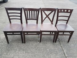 Mixed dining chairs for sale