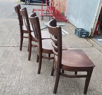 Mixed wooden chairs for sale