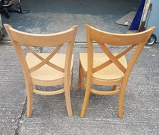 Beach dining chairs