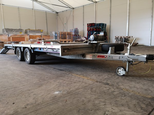 4.5m Flat Bed Brian James Trailer