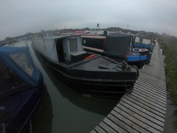 57ft Vintage Engine Canal Boat Narrowboat Live Aboard